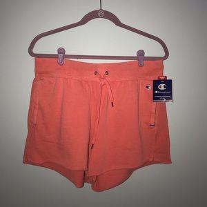 Salmon Pink Champion Shorts - NWT